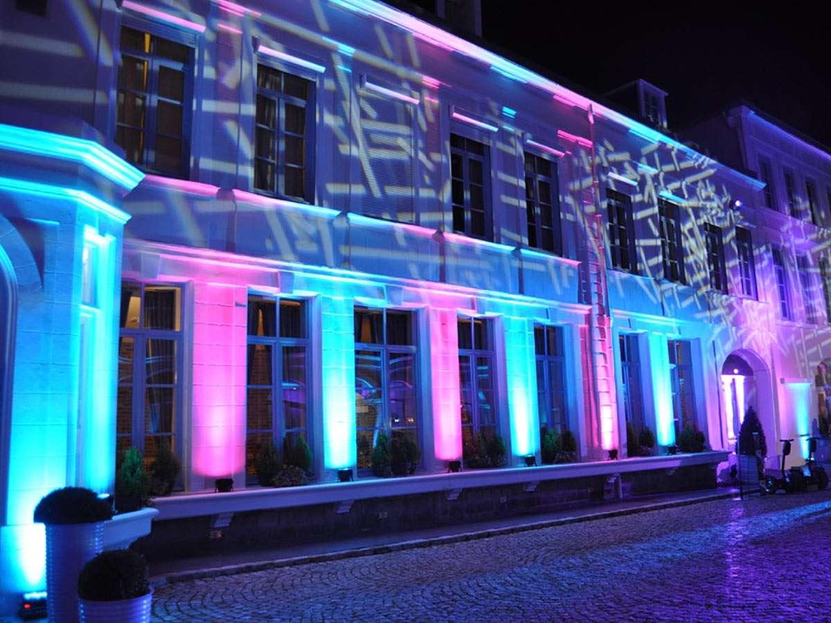 Eclairage architectural facade