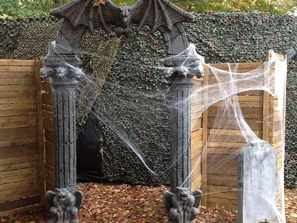 D coration ev nementielle halloween location d cor halloween pour v nements - Decoration evenementielle ...