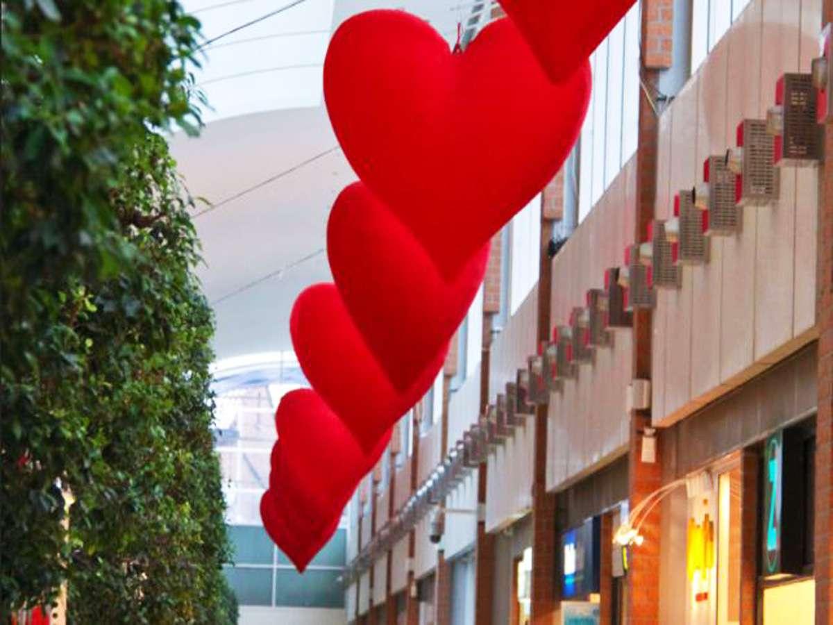 décoration evénementielle saint-valentin : location décor amour