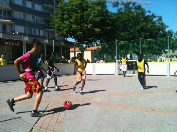Terrain de foot loisirs