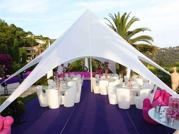 Tente design 40m²