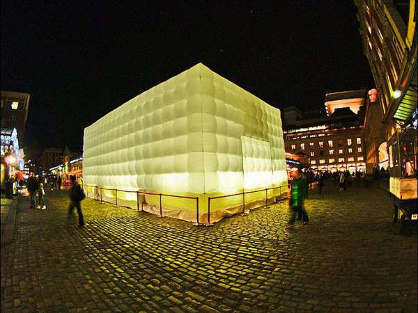 Cube Gonflable 12m
