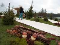 Piste de ski de fond 150m²