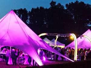 Tente design 80m²